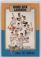 Hall of Famers - Home Run Legends