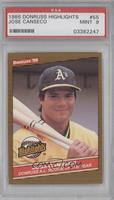 Jose Canseco [PSA9]