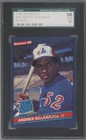 Andres Galarraga (Corrected: Accent Mark over Name on Back) [SGC 98]
