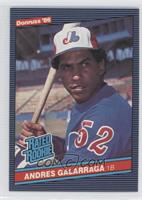 Andres Galarraga (Corrected: Accent Mark over Name on Back)