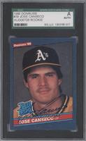 Jose Canseco [SGC AUTHENTIC]