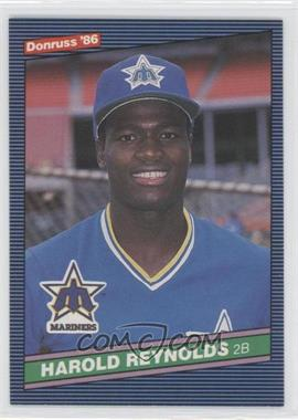 1986 Donruss #484 - Harold Reynolds