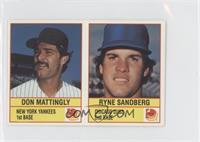 Don Mattingly, Ryne Sandberg