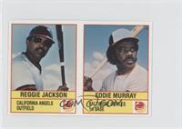 Eddie Murray, Reggie Jackson