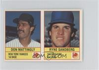 Don Mattingly, Ryne Sandberg