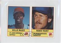Willie McGee, Robin Yount