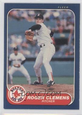 1986 Fleer - [Base] #345 - Roger Clemens