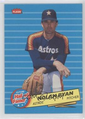 1986 Fleer Future Hall of Famer #5 - Nolan Ryan