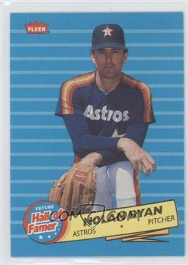 1986 Fleer Future Hall of Famer #5 - Nolan Ryan