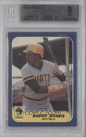 Barry Bonds [BGS 9]