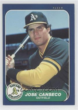 1986 Fleer Update Factory Set [Base] #U-20 - Jose Canseco