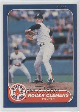 1986 Fleer #345 - Roger Clemens