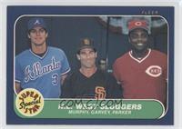 Dale Murphy, Steve Garvey, Dave Parker