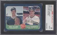 Eric Plunk, Jose Canseco [SGC AUTHENTIC AUTO]
