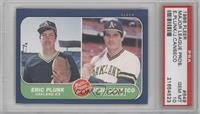 Eric Plunk, Jose Canseco [PSA 10]