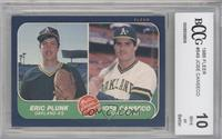 Eric Plunk, Jose Canseco [ENCASED]