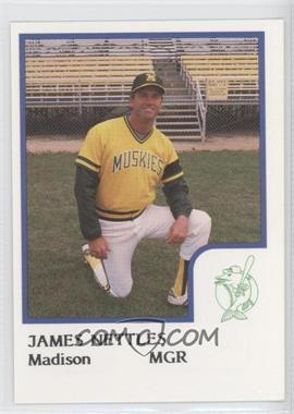 1986 ProCards Madison Muskies #JANE - James Nettles