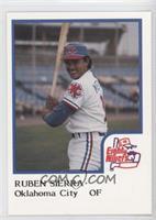 Ruben Sierra (Uncorrected Error: Photo actually Orlando Mercado)
