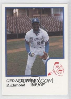 1986 ProCards Richmond Braves #N/A - Gerald Perry