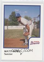 Matt Rowe