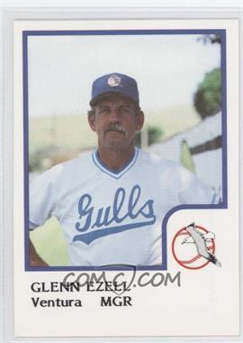 1986 ProCards Ventura Gulls - [Base] #GLEZ - Glenn Ezell