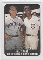 N.L. Stars (Gil Hodges, Ernie Banks)