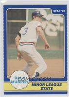 Dale Murphy Minor League Stats