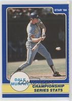 Dale Murphy Championship Series Stats