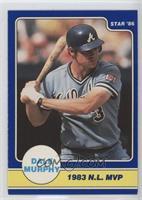 Dale Murphy 1983 National league MVP