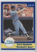 Dale Murphy Puzzle Back (swing followthrough arms high)