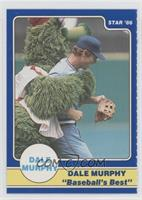 Dale Murphy Puzzle Back (hugged by Phillie Phanatic)