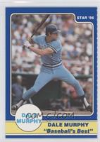 Dale Murphy Puzzle Back (preparing to swing)