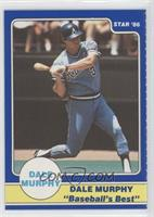 Dale Murphy Puzzle Back (starting swing)