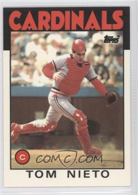1986 Topps - [Base] - Box Set Collector's Edition (Tiffany) #88 - Tom Nieto