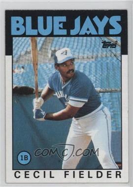 1986 Topps - [Base] #386 - Cecil Fielder