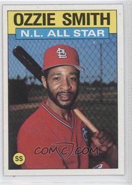 1986 Topps - [Base] #704 - Ozzie Smith