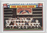 1985 A.L. All-Star Team