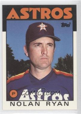 1986 Topps Box Set Collector's Edition (Tiffany) #100 - Nolan Ryan