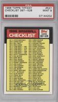 Checklist [PSA9]