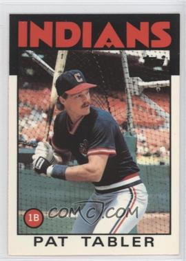 1986 Topps Box Set Collector's Edition (Tiffany) #674 - Pat Tabler