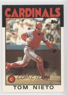 1986 Topps Box Set Collector's Edition (Tiffany) #88 - Tom Nieto