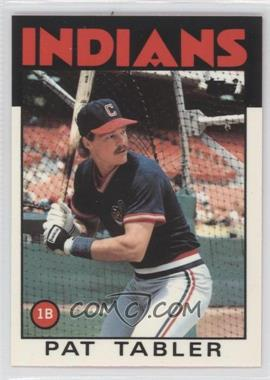 1986 Topps Collector's Edition (Tiffany) #674 - Pat Tabler