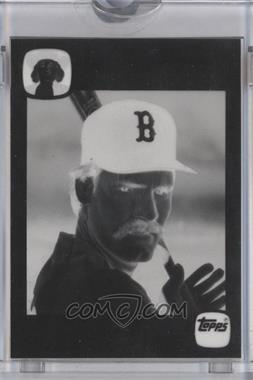 1986 Topps Quaker Chewy Granola Bars Food Issue [Base] Black Proof #WABO - Wade Boggs [ENCASED]