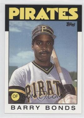 1986 Topps Traded #11T - Barry Bonds - Courtesy of COMC.com