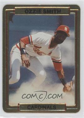 1987 Action Packed Test Issue [Base] #N/A - Ozzie Smith