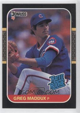 1987 Donruss - [Base] #36 - Greg Maddux
