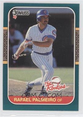 1987 Donruss The Rookies - Box Set [Base] #47 - Rafael Palmeiro