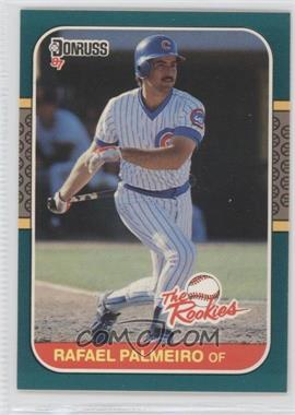 1987 Donruss The Rookies Box Set [Base] #47 - Rafael Palmeiro