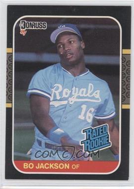 1987 Donruss #35 - Bo Jackson