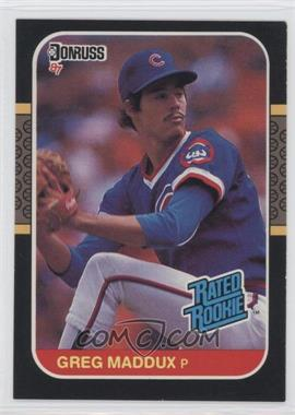 1987 Donruss #36 - Greg Maddux
